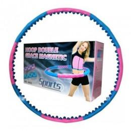 Массажный хулахуп Double Magnetic (1,4 кг), JS-6008 в интернет-магазине