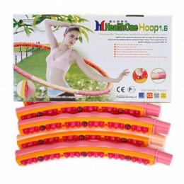 Массажный обруч для похудения Health One Hoop (1,6 кг) в интернет-магазине