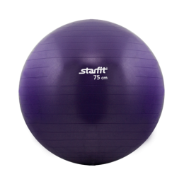 Гимнастический мяч Star Fit (диаметр 75 см), фиолетовый в интернет-магазине
