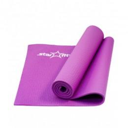 Коврик для йоги и фитнеса Star Fit (173х61х0,6см), фиолетовый в интернет-магазине