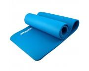 Коврик для йоги Star Fit NBR, 183x58x1,2 см, синий