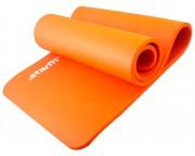 Коврик для йоги Star Fit NBR, 183x58x1,5 см, оранжевый
