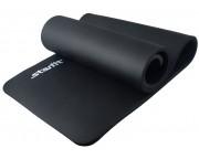 Коврик для йоги Star Fit NBR, 183x58x1,5 см, черный