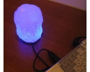 """Солевая лампа Mini USB """"Скала"""", 0,3 - 0,5 кг"""