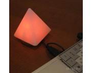 """Солевая лампа Mini USB """"Пирамида"""", 0,3 - 0,5 кг"""