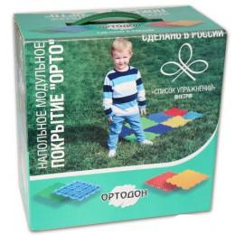 Детский массажный коврик Орто (МИКС), 6 пазлов  в интернет-магазине