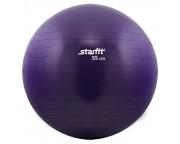 Гимнастический мяч Star Fit (диаметр 55 см), фиолетовый