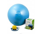 Гимнастический мяч Star Fit (диаметр 75 см), с насосом