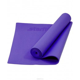 Коврик для йоги и фитнеса Star Fit (173х61х0,3см), фиолетовый в интернет-магазине