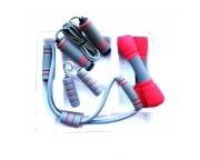 Набор для фитнеса 4 в 1 (гантели, скакалка, эспандер восьмерка, эспандер кистевой)