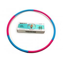 Мягкий гимнастический обруч Fashion Hula Hoop, голубой-фиолетовый, (1 кг) в интернет-магазине