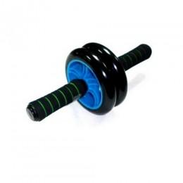 Ролик гимнастический двухрядный колесо PU 5001 в интернет-магазине