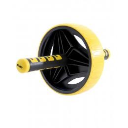 Ролик для пресса Star Fit RL-105, черный/желтый в интернет-магазине