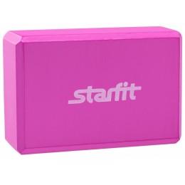 Блок для йоги Star Fit FA-101 EVA, розовый в интернет-магазине
