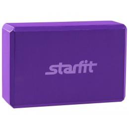 Блок для йоги Star Fit FA-101 EVA, фиолетовый в интернет-магазине