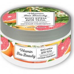 Vitamin Bio Beauty Крем для тела сочный грейпфрут идеальный силуэт, 250 мл в интернет-магазине