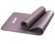 Коврик для йоги и фитнеса Star Fit (183x58x1,0 см), серый