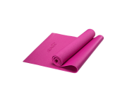 Коврик для йоги FM-101, PVC, 173x61x0,5 см, розовыйStarfit