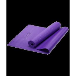 Коврик для йоги FM-101, PVC, 173x61x0,6 см, фиолетовый Starfit в интернет-магазине