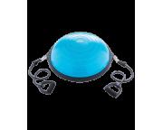 """Полусфера """"BOSU"""" GB-502 PRO с эспандерами, с насосом, синийStarfit"""
