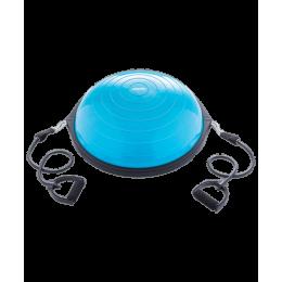 """Полусфера """"BOSU"""" GB-502 PRO с эспандерами, с насосом, синийStarfit в интернет-магазине"""