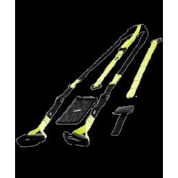 Тренировочные петли FA-701, черный/зеленыйStarfit в интернет-магазине