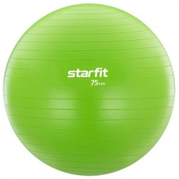 Гимнастический мяч Star Fit (диаметр 75 см), зеленый в интернет-магазине