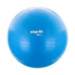 Фитбол GB-104, 85 см, голубой, антивзрыв в интернет-магазине