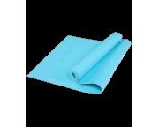 Коврик для йоги FM-103, PVC HD, 173 x 61 x 0,4 см, голубойStarfit