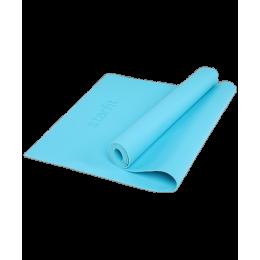 Коврик для йоги FM-103, PVC HD, 173 x 61 x 0,4 см, голубойStarfit в интернет-магазине