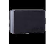 Блок для йоги YB-201 EVA, 22,8х15,2х10 см, 350 гр, черно-серыйStarfit