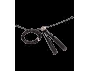 Скакалка RP-301 скоростная с металлическими ручками, черныйStarfit